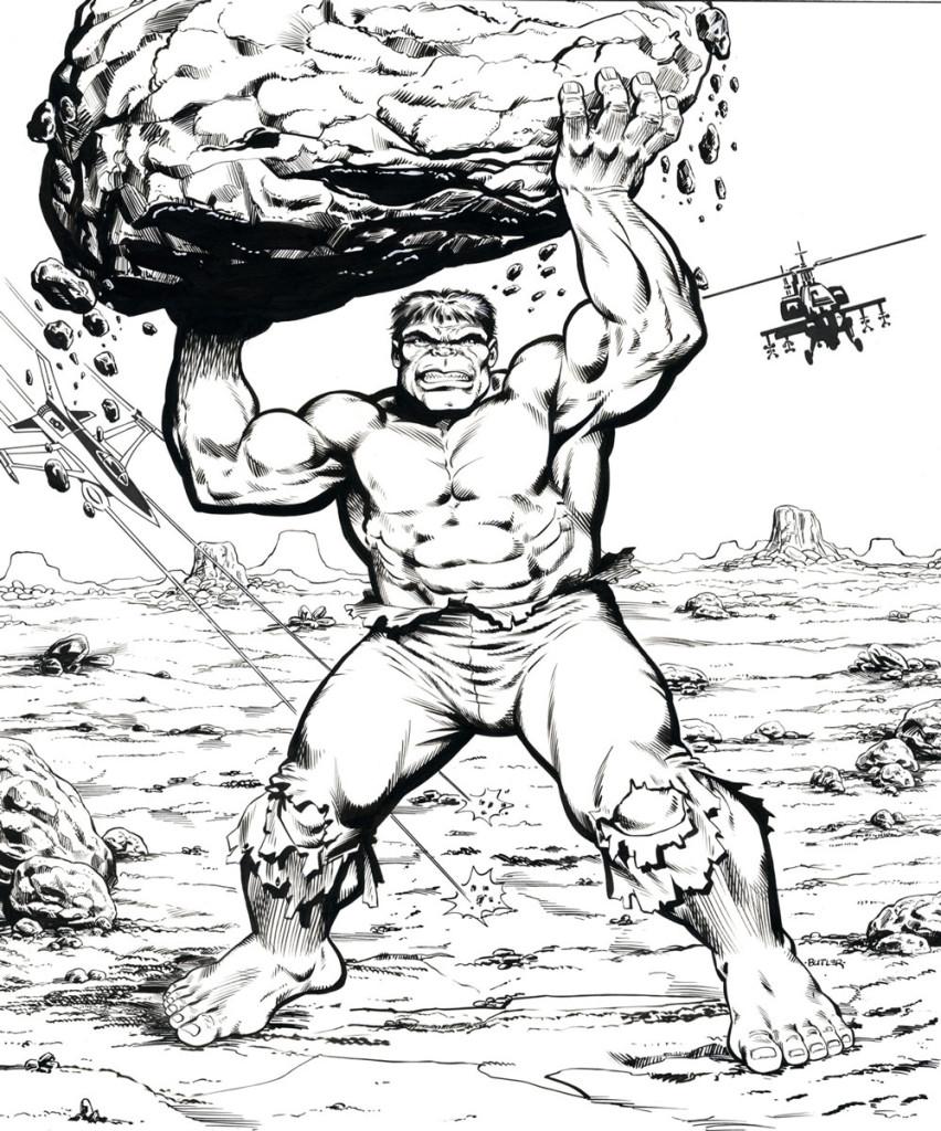 Hulk Frame Tray Puzzle Western Publishing Brush And Ink