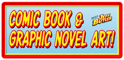 Learn Graphic Novel and Comic Book Art - class banner