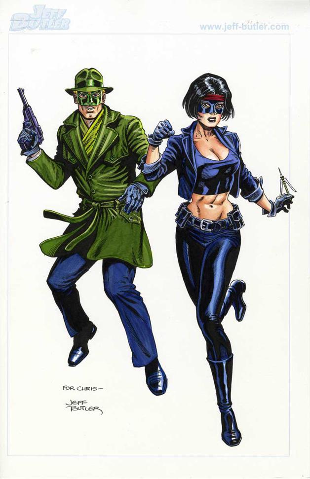 90's Green Hornet & Kato