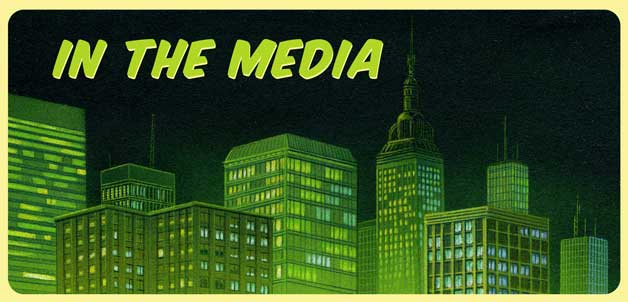 In the Media - Gotham skyline