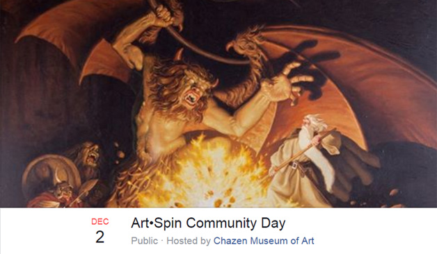 Chazen Art Spin Community Day – Fantasy Art with the Korshak Collection