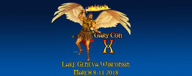 GaryCon X 2018