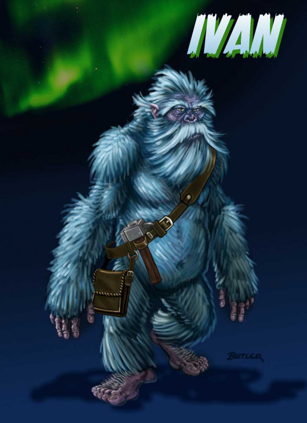 Ivan is the good yeti who helps the players battle Malaki.