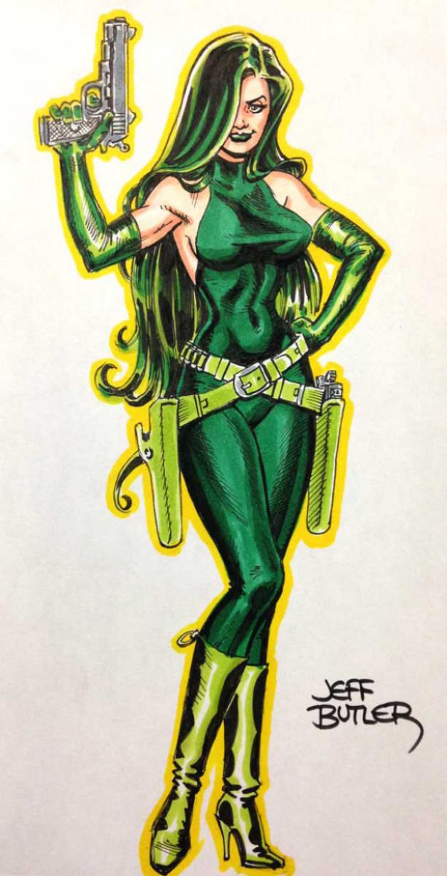 Madame Hydra Con Sketch
