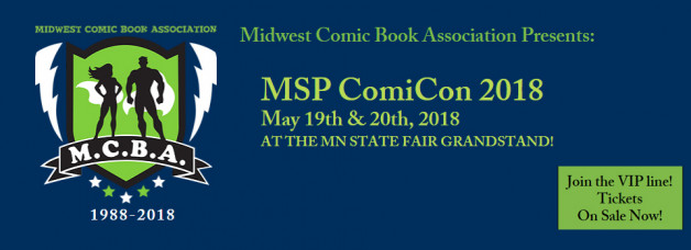I'll be at the 30th Midwest Comic Book Association!