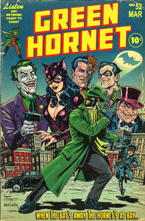 Green Hornet: Bat Rogues