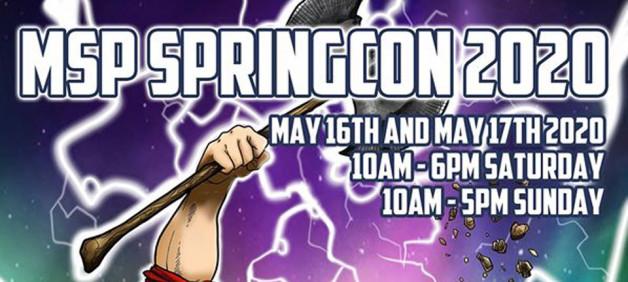 MSP ComicCon promo May 2020