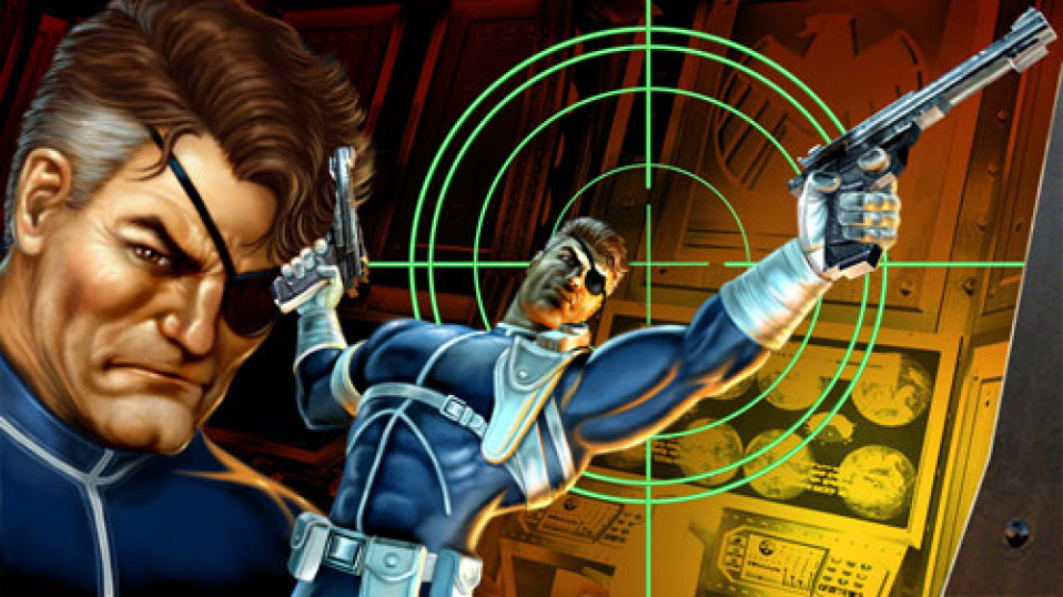 Nick Fury Marvel: Ultimate Alliance Digital Painting 2006