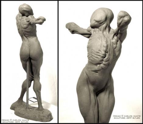 Creature 1/4 Scale Sculpture Chavant NSP 2011