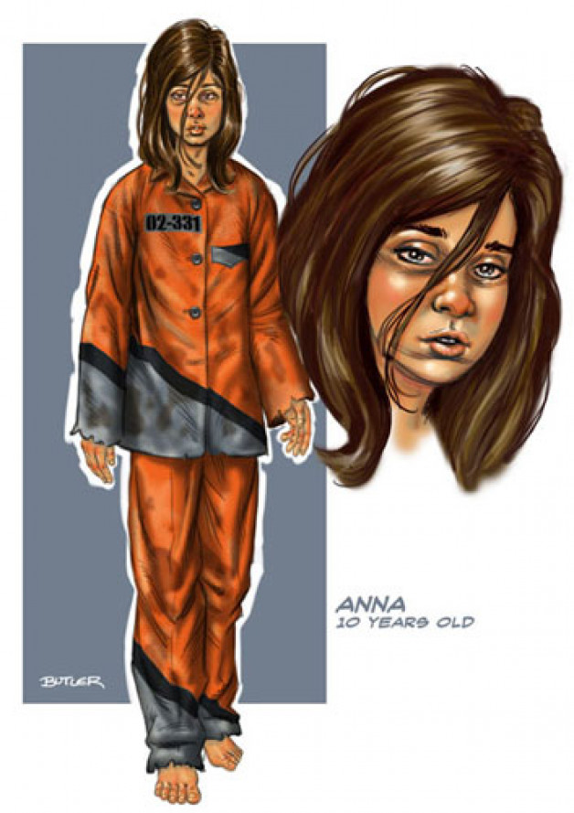 Anna Character Design Photoshop 2009
