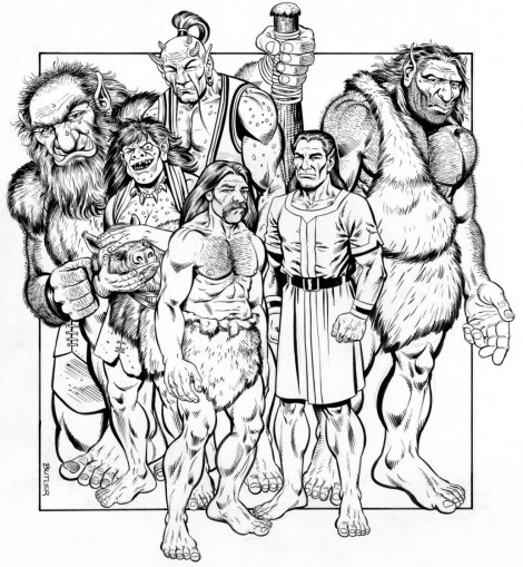 Giants TSR, Inc. Brush and Ink 1988