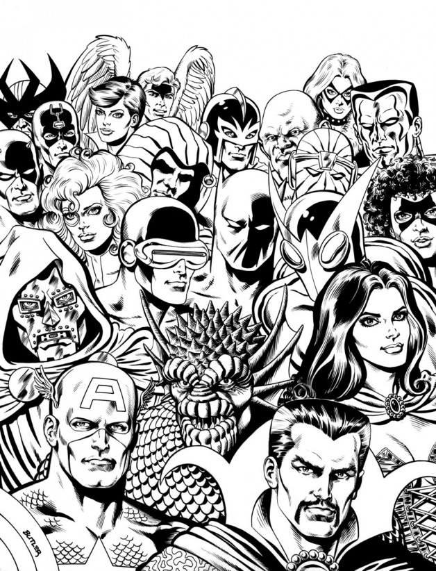 Character Roster: A-D TSR, Inc. Brush and Ink 1987