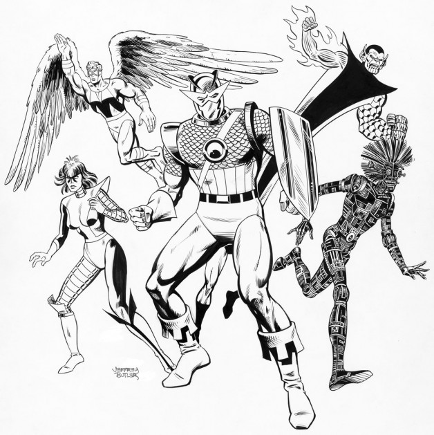 Ultimate Powers TSR, Inc. Brush and Ink 1987