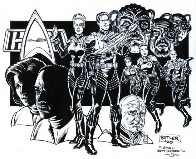 Star Trek Voyager: Elite Force Raven Software / Wildstorm Brush and Ink 2000