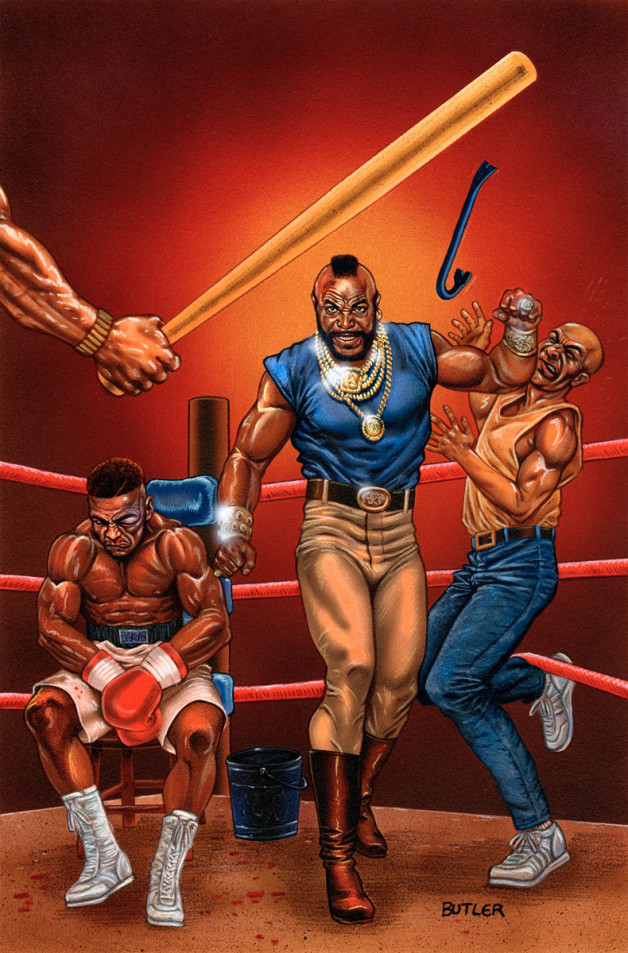 Mr. T NOW Comics Airbrush & Colored Pencil 1994