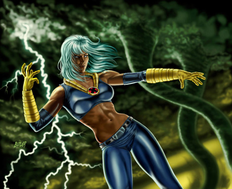 Storm X-Men Legends II  Digital Painting 2005