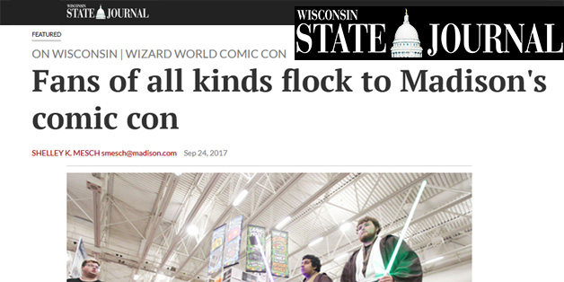 Wisconsin State Journal at Wizard World 2017